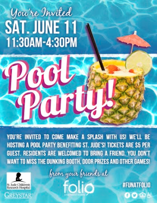 Folio Apartments Austin Tx June Pool Party All