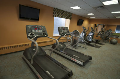 Get fit at The Axis on 36th Apartments